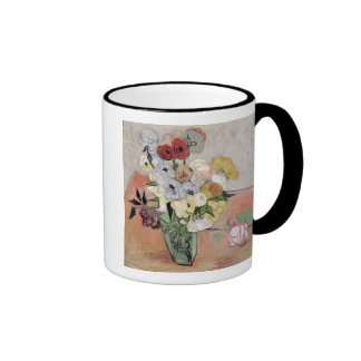 Roses and Anemones, 1890 Coffee Mugs