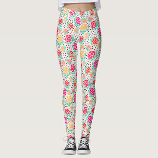 Roses and Dots - Leggings