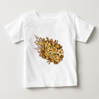 Roses and Hibiscus Baby T-Shirt