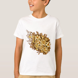 Roses and Hibiscus T-Shirt