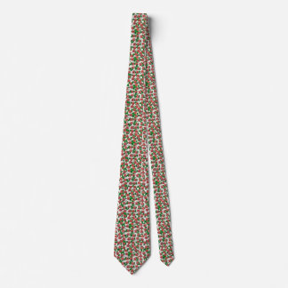 Roses and Leaves Tie