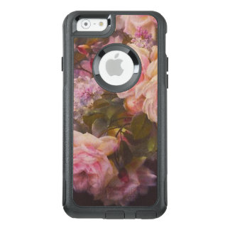 Roses and Lilacs on a Cement Bench Fine Art OtterBox iPhone 6/6s Case