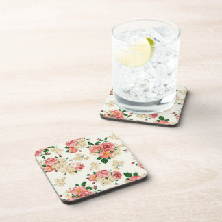 Roses and Magnolias Coaster