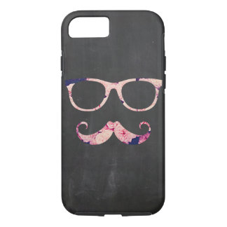 Roses and mustache iPhone 7 case