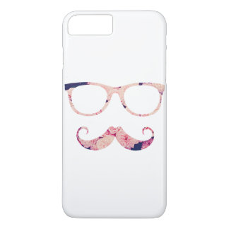 Roses and mustache iPhone 7 plus case