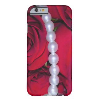 Roses and Pearls Barely There iPhone 6 Case