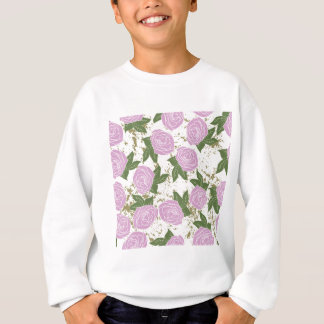 roses and peeling paint sweatshirt