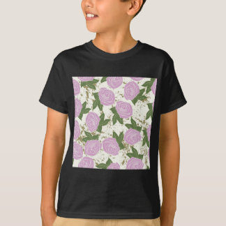 roses and peeling paint T-Shirt