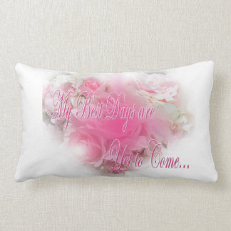 Roses and Quote Pillow