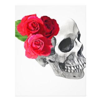 Roses and Skull Letterhead