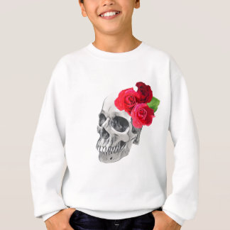 Roses and Skull Sweatshirt