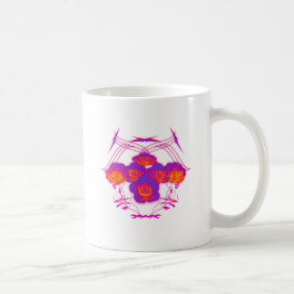 Roses and Tribals Coffee Mug