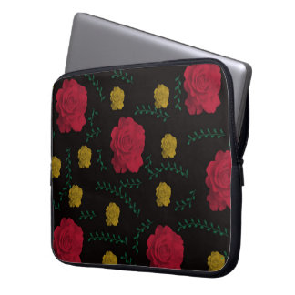 Roses and Vines Laptop Sleeves, 10, 13, 15 -inch Laptop Computer Sleeves