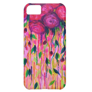ROSES ARE RAD 2- Bold Pink Red Roses Floral Bouque iPhone 5C Case