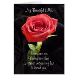 Roses are Red Will You Marry Personalized Proposal Greeting Card