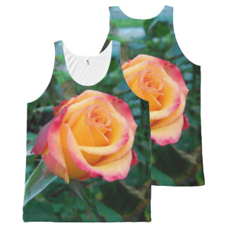 Roses aren't always red All-Over-Print tank top