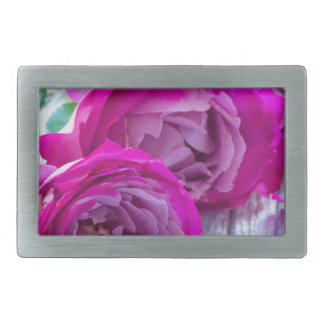 roses background belt buckle