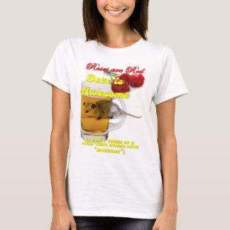 Roses-Beer-Raw T-Shirt