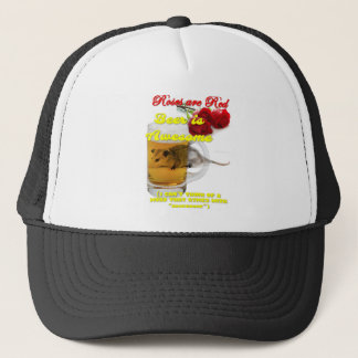 Roses-Beer-Raw Trucker Hat