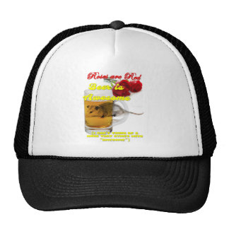 Roses-Beer-Raw Trucker Hat