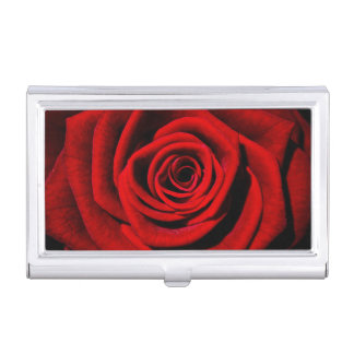 Roses Business Card Holder