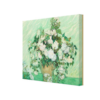 Roses by Vincent van Gogh Canvas Print