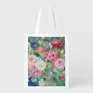 Roses, c.1885 (oil on canvas) market totes