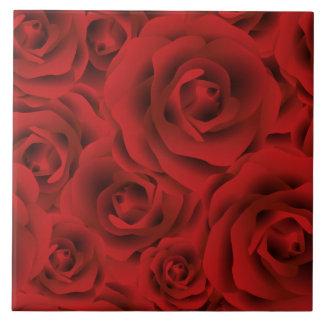 Roses Ceramic Tile