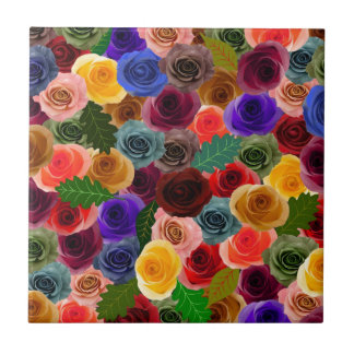Roses Ceramic Tiles