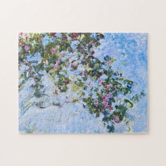 Roses Claude Monet Fine Art Jigsaw Puzzle