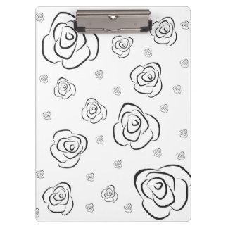 Roses Clipboard