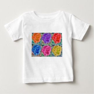 Roses Collage Baby T-Shirt