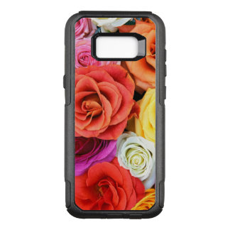 Roses Collage-Bright Mixed Colors OtterBox Commuter Samsung Galaxy S8+ Case