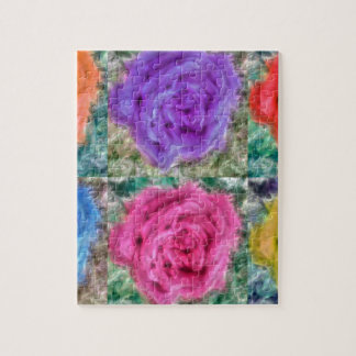 Roses Collage Jigsaw Puzzle