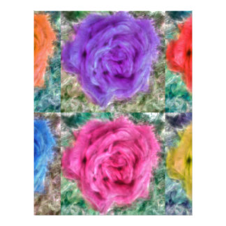 Roses Collage Letterhead