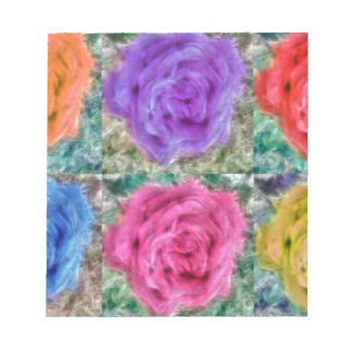 Roses Collage Notepad