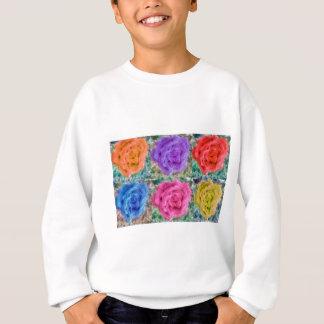 Roses Collage Sweatshirt