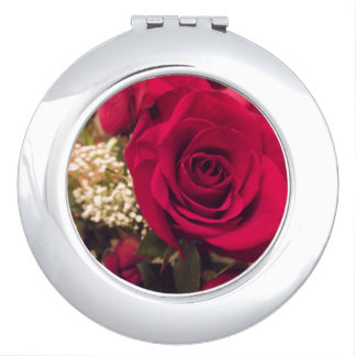 Roses Compacr Mirror Vanity Mirrors