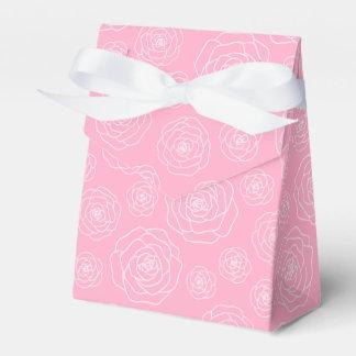 Roses Contour Favor Box