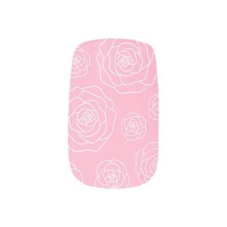 Roses Contour Nail Art