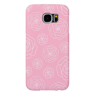 Roses contour samsung galaxy s6 cases