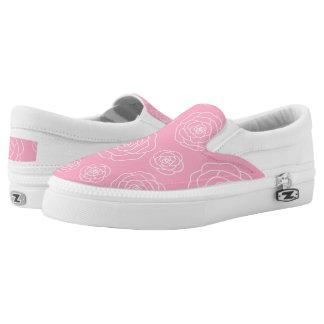 Roses contour Slip On Shoes