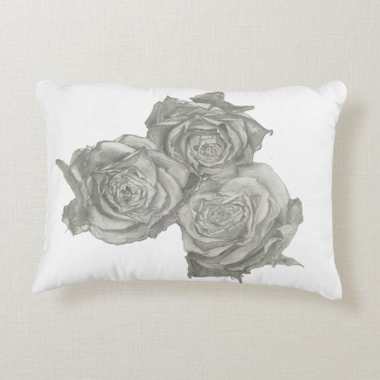 Roses copy accent pillow