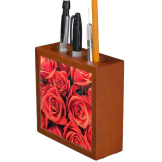 Roses Desk Organizer