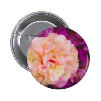 Roses (double exposure version) 2 inch round button