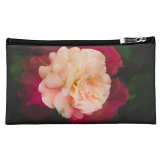 Roses (double exposure version) makeup bag