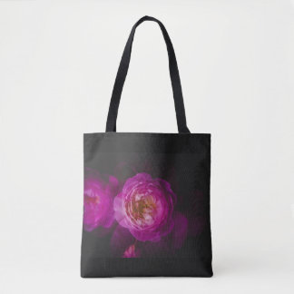 Roses (double exposure version) tote bag