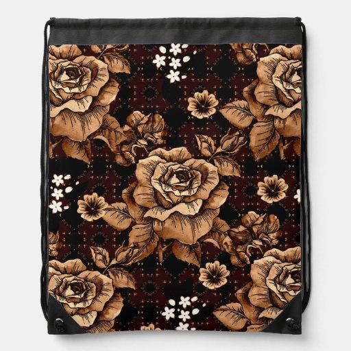 Roses en bronze sac à dos