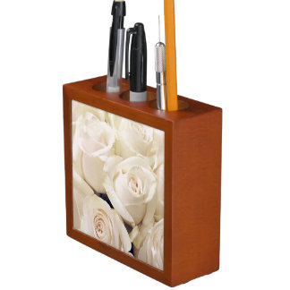 Roses every day desk organizer