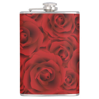 Roses Flask